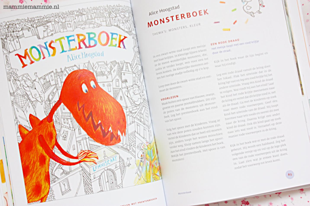 lesidee monsterboek