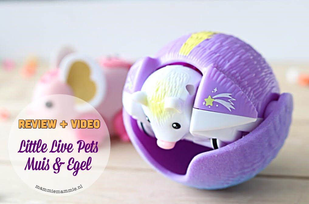 review little live pets egel en muis