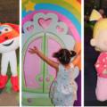 telekids familie feest tekenfilm figuren