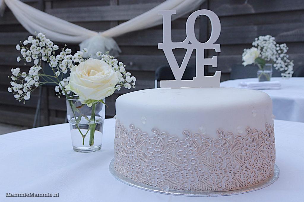 elegante bachelor taart