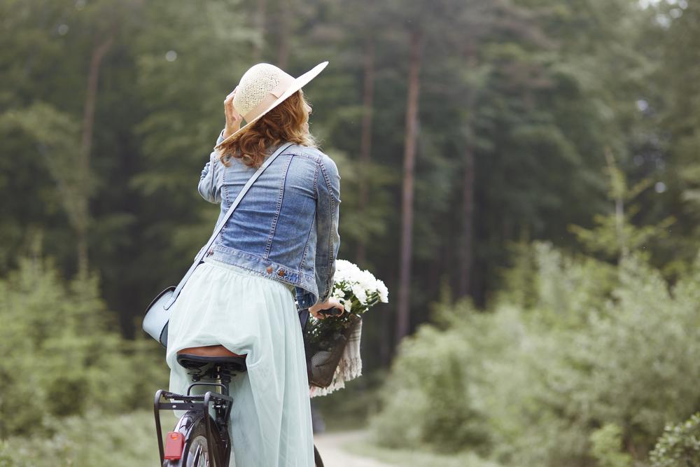 fietsen is vrijheid
