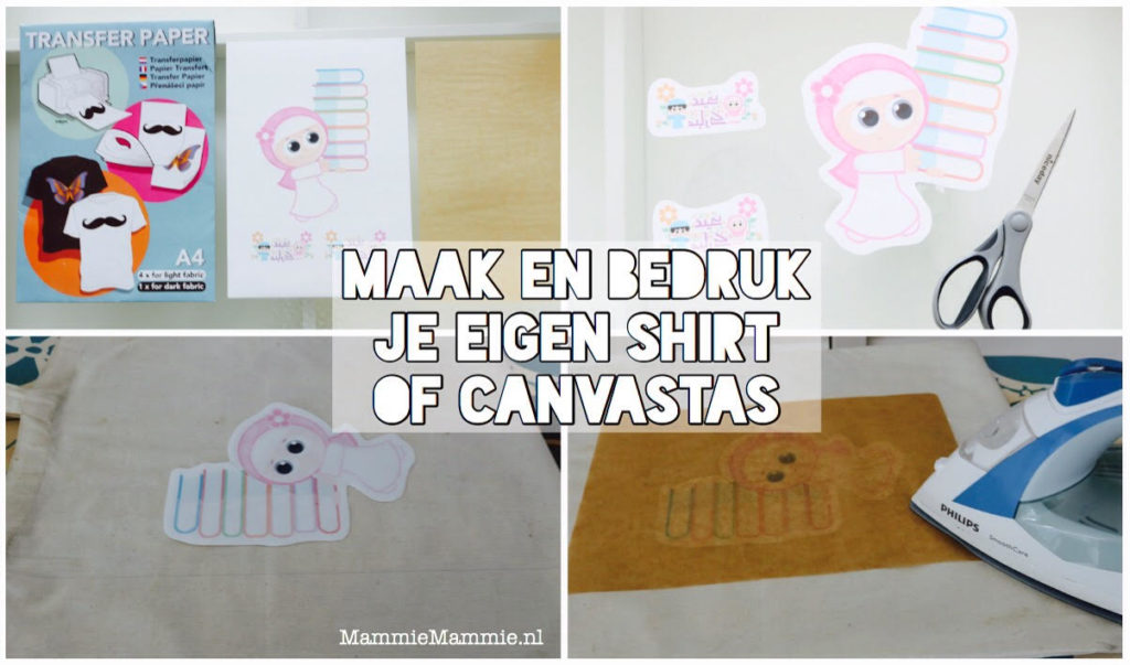 mama blog shirt bedrukken