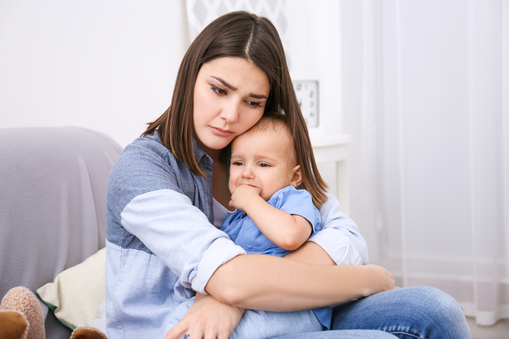 onzeker als moeder