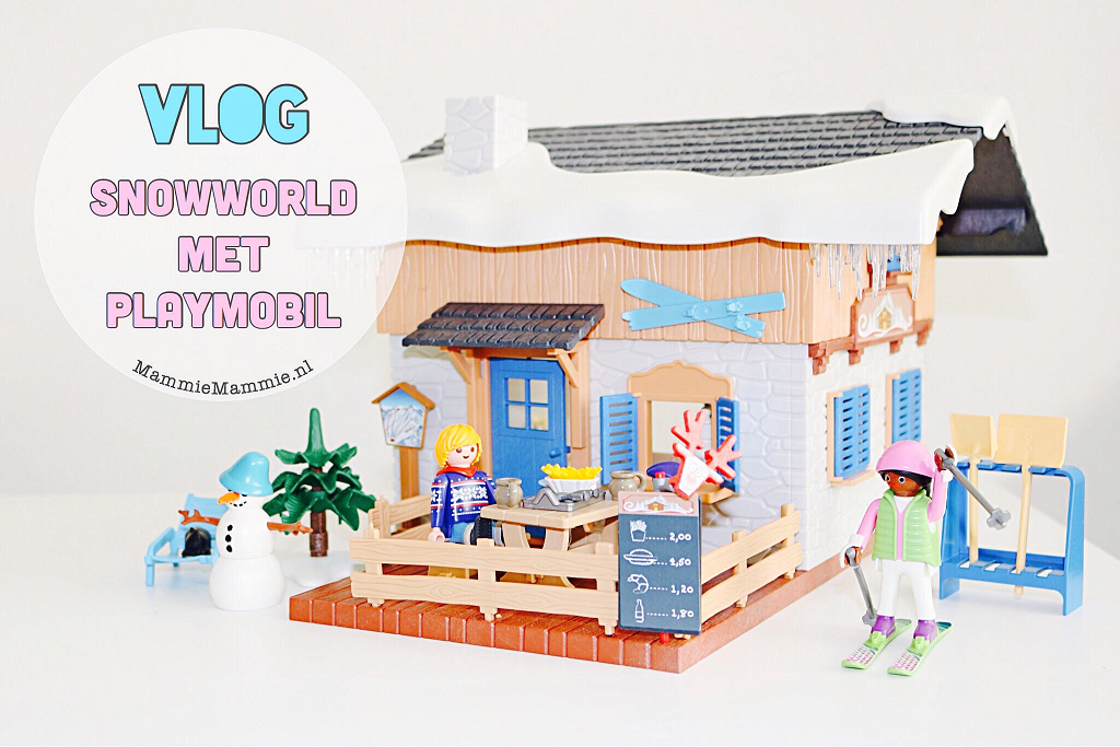 naar snow world met playmobil