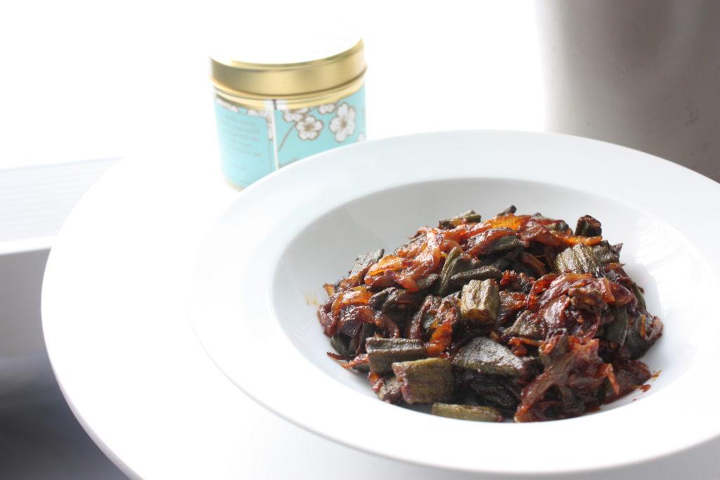 recept bhindi okra