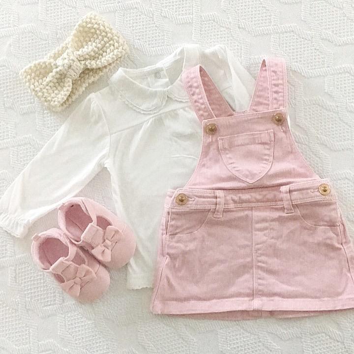 babykleertjes voor meisje combineren