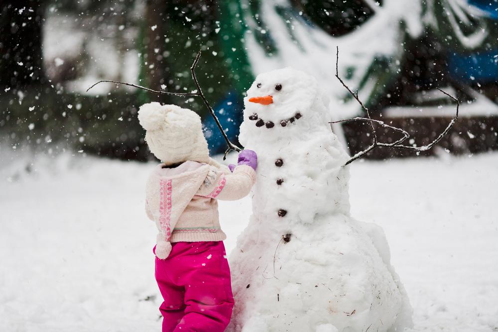 zullen wij een sneeuwpop maken