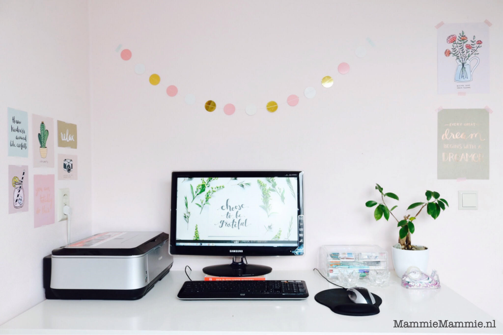 budgetvriendelijke hobbykamer kantoorruimte