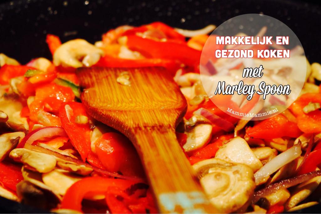 gezond makkelijk koken met marley spoon