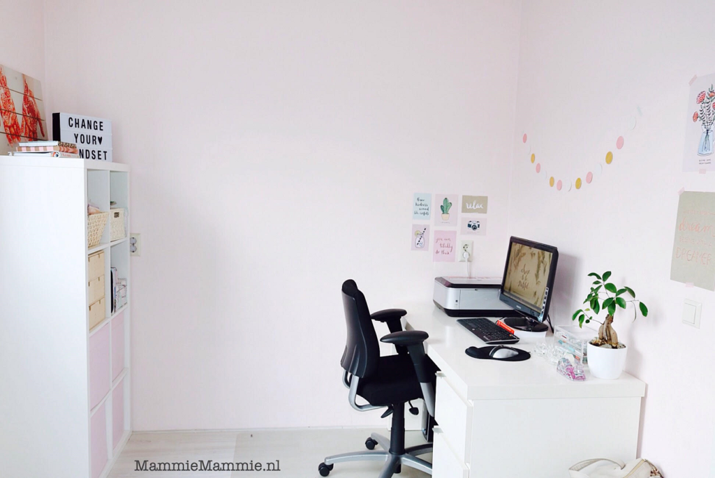 kantoorruimte in huis voor vrouwen