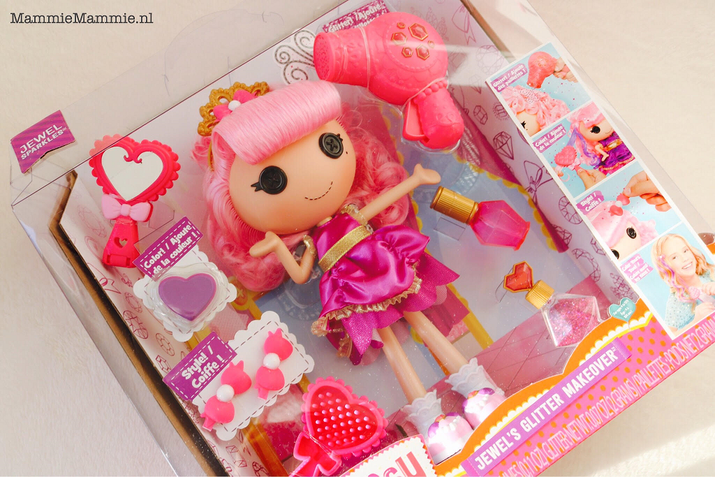 review lalaloopsy jewels glitter