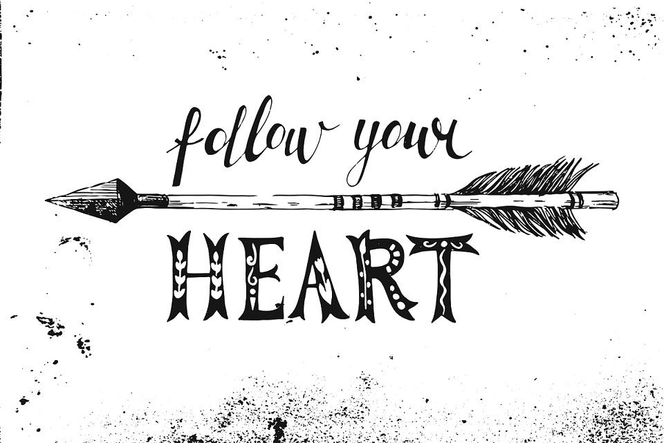 hoe volg je je eigen hart