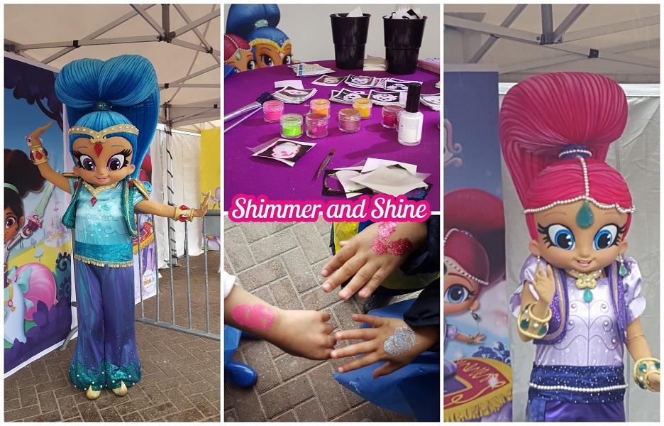 Shimmer en Shine, Nick Jr. Fandagen