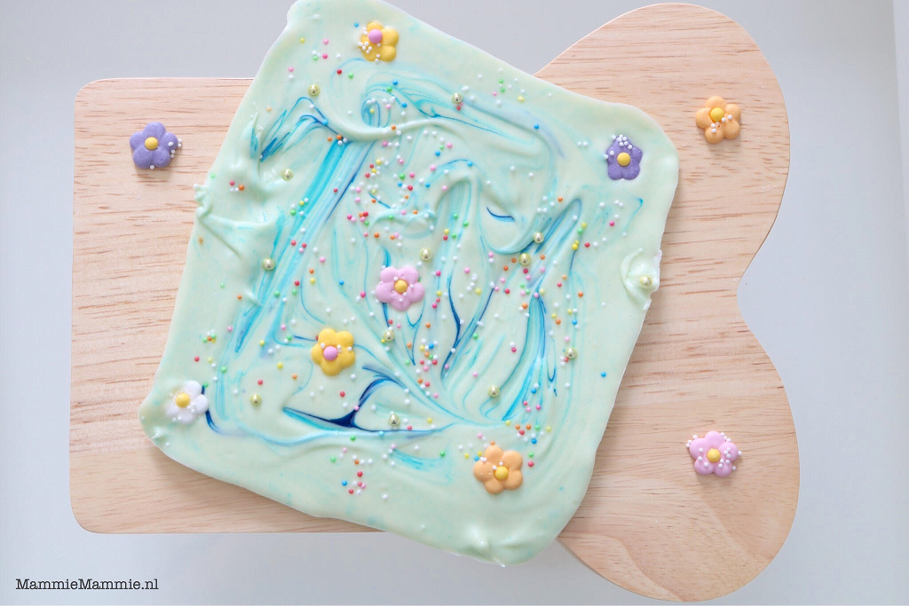 Unicorn chocolade maken