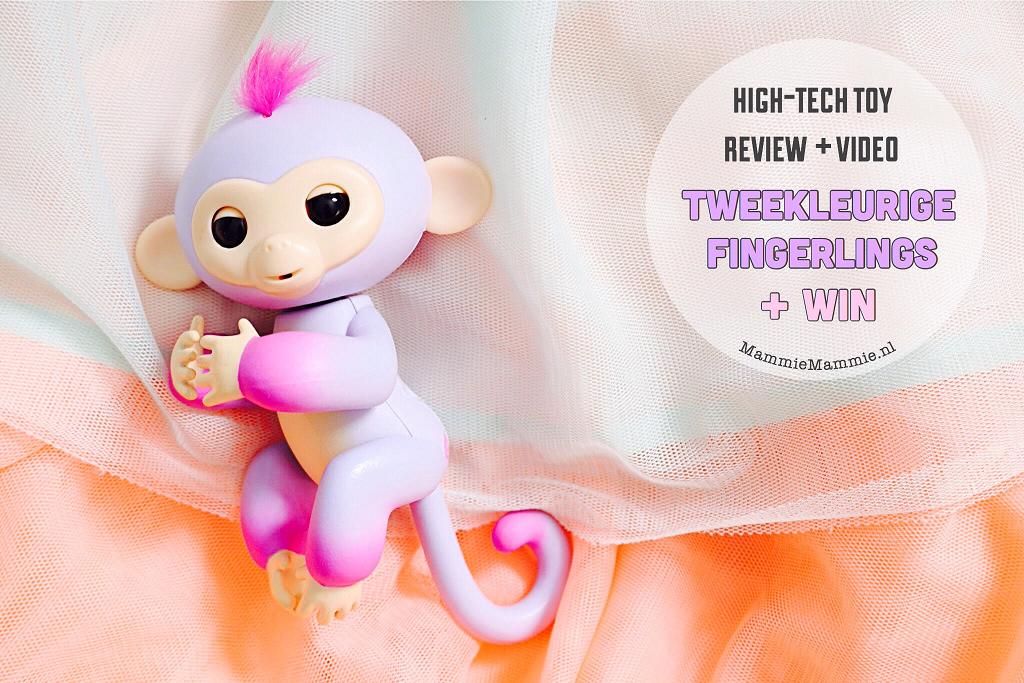 Speelgoed Review Tweekleurige Fingerling High Tech Aapje Mammie