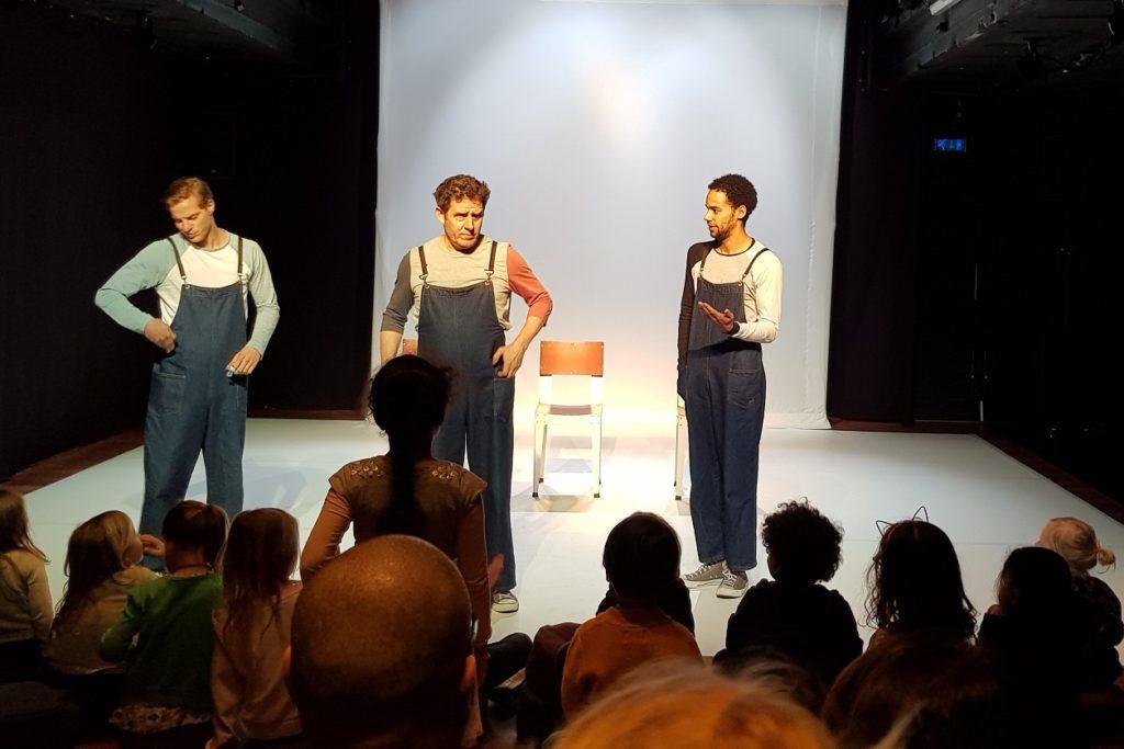 recensie DRIE kleuter theater
