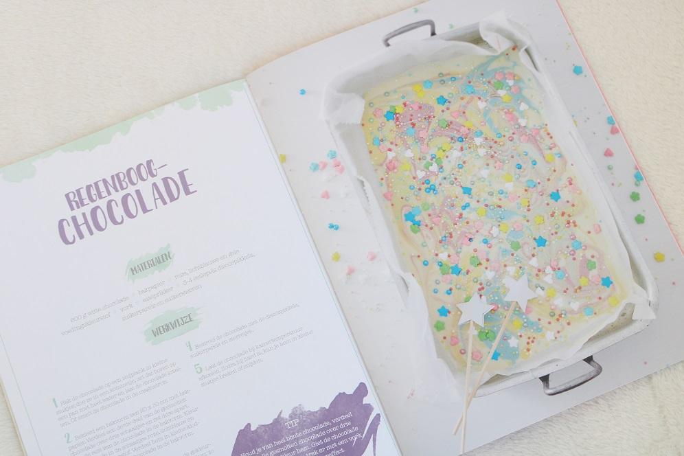 regenboog chocolade maken
