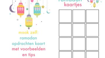 Ramadan opdachten maken - islam blog