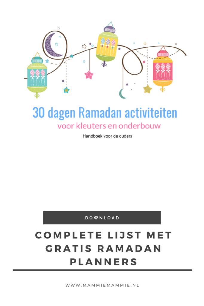 30 dagen ramadan activiteiten boek voor kinderen