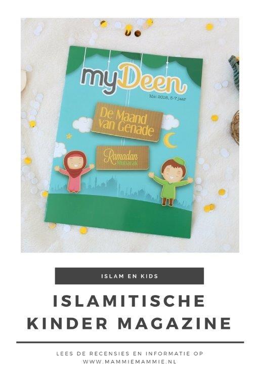 Islamitische kinder magazine tijdschrift My Deen Nederlands moslim