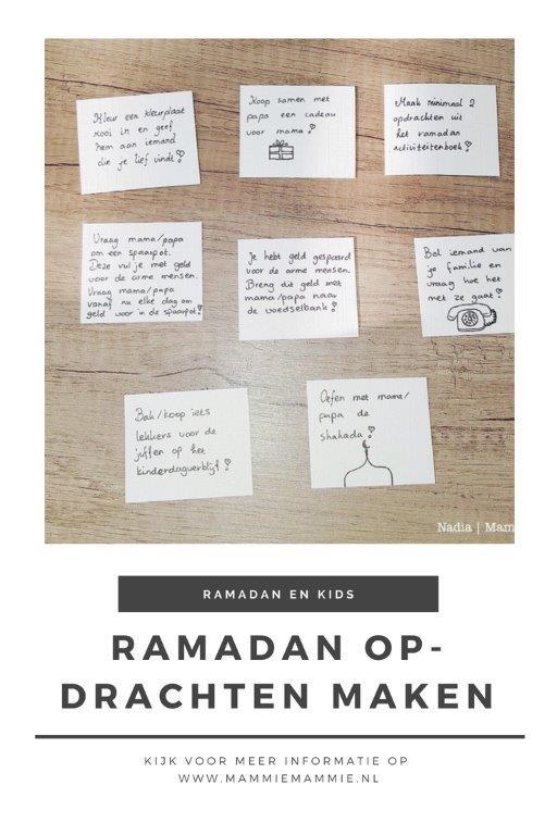 gratis download ramadan opdrachten voor kinderen