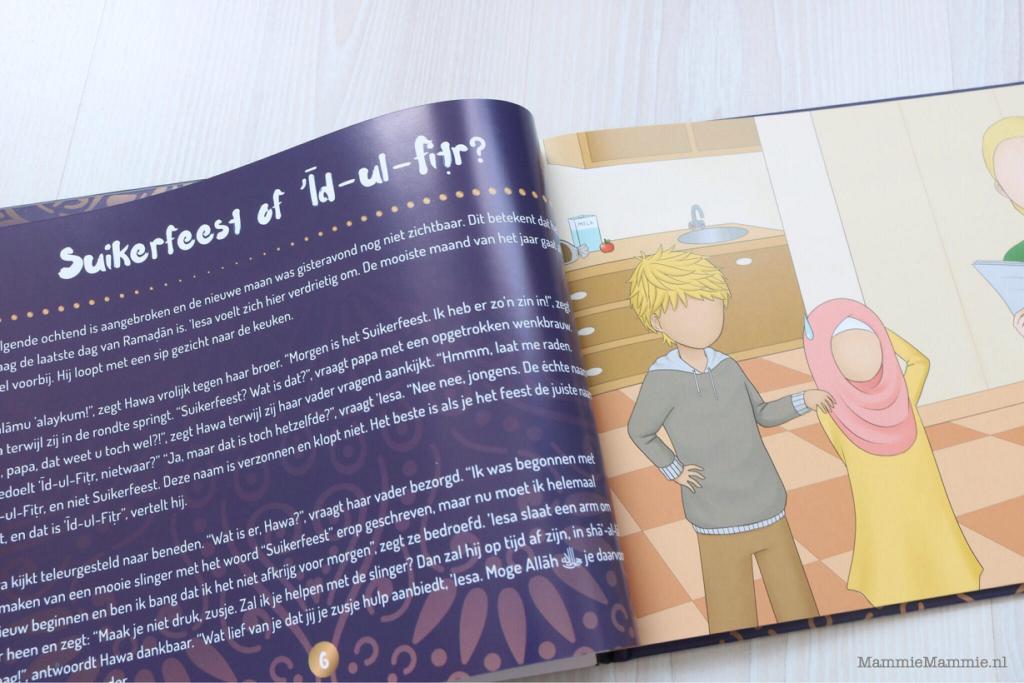 kinderboek over suikerfeest