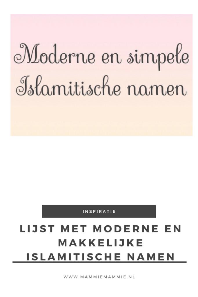moderne en makkelijke islamitische baby namen