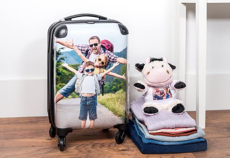 een persoonlijke reiskoffer ontwerpen
