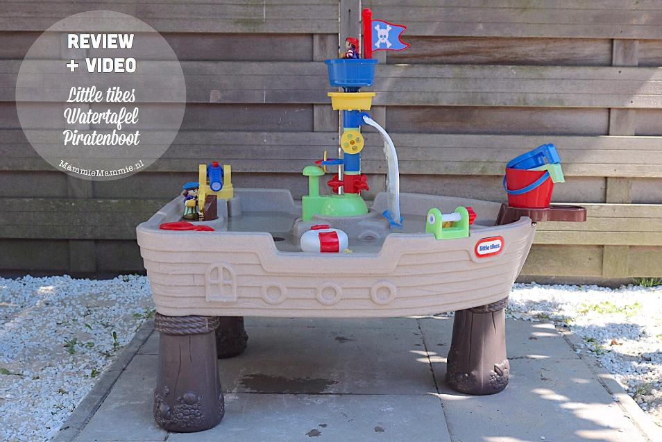 Spelen met water | Wat vinden wij van de Little Tikes watertafel Piratenboot