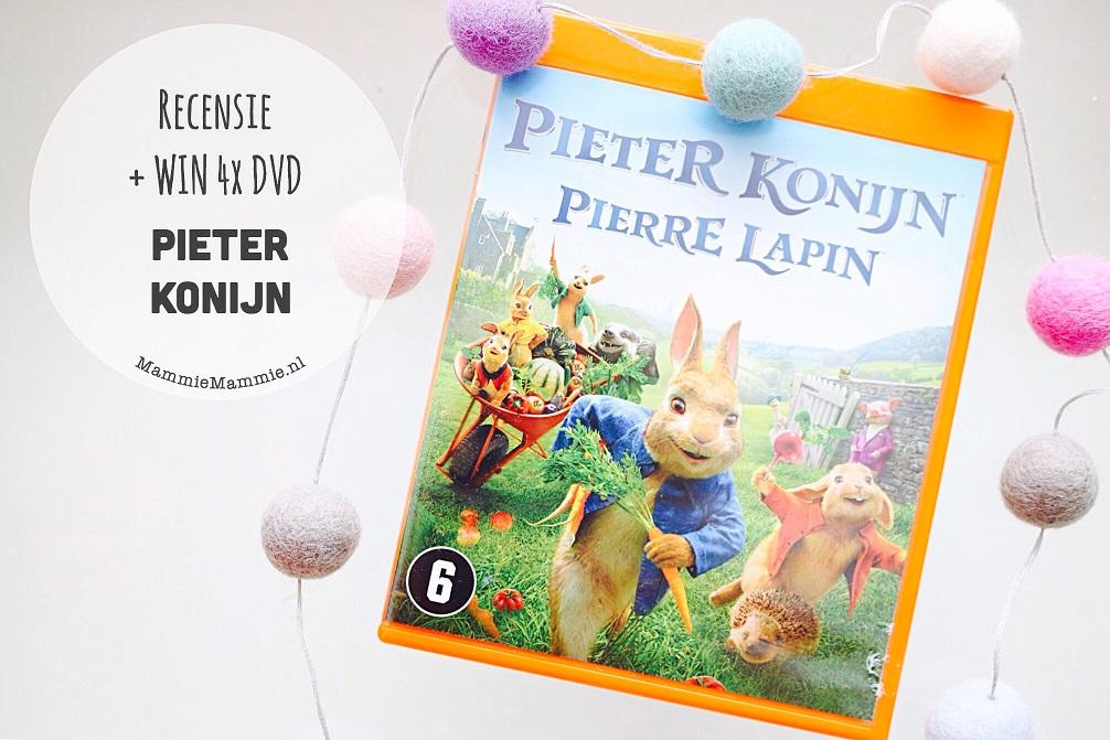 "Release familiefilm ""Pieter Konijn"" + win 4x Dvd"