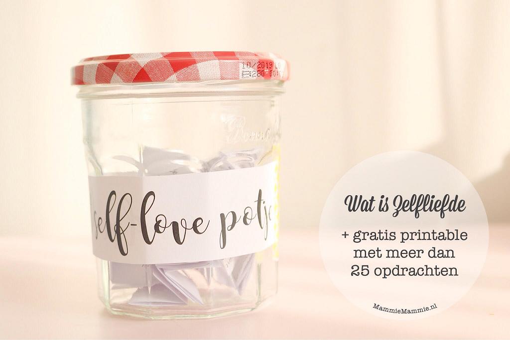 Gratis Printable | Maak een Self Love Potje met opdrachten