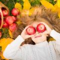 kind gezond herfst