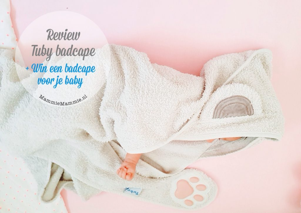 Baby musthave | Review: Tuby Badcape