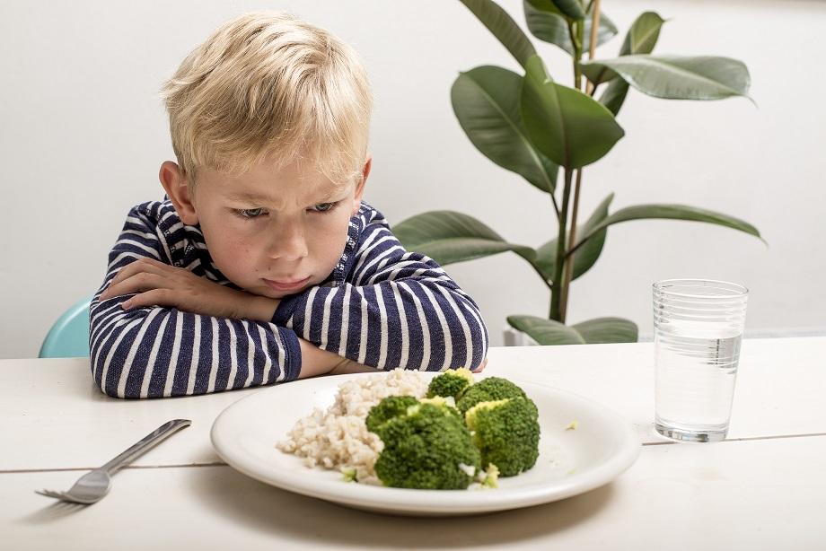 kind niet gezond eten