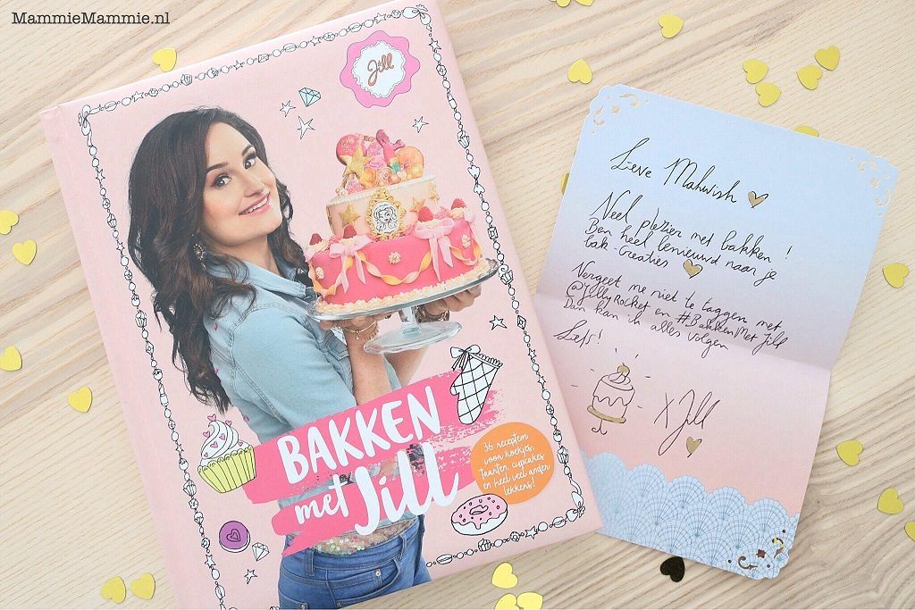 "Samen bakken | Bakboek ""Bakken met Jill"" + bak-challenge #BAKKENmetJill"