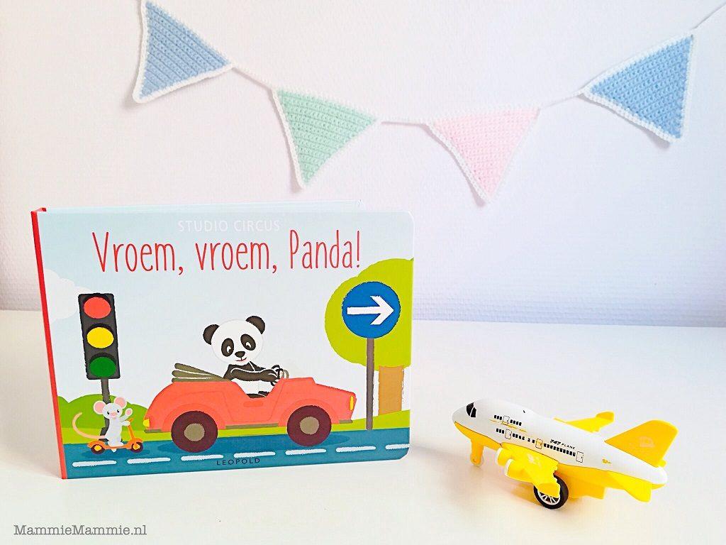 Boekentip voor peuters | Vroem Vroem, Panda!
