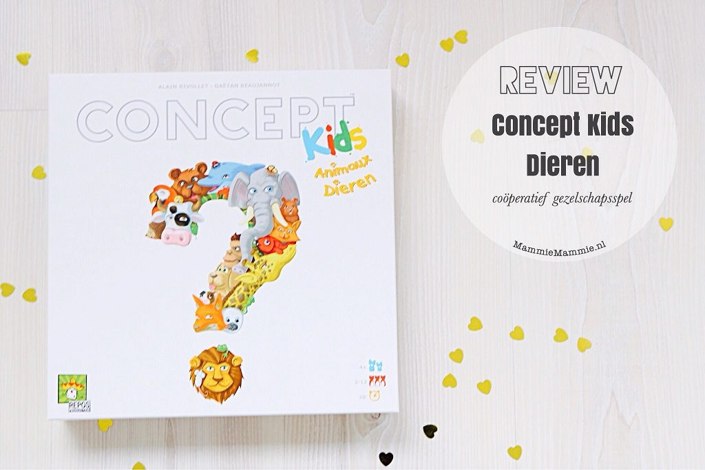 Coöperatief spel Concept Kids Dieren + winactie