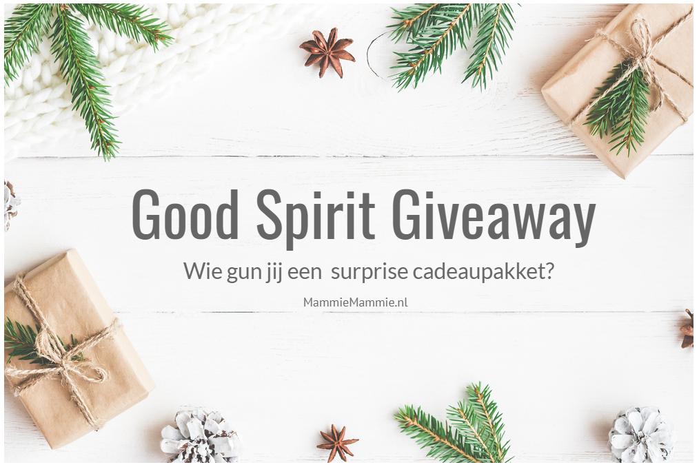 good spirit giveaway mommy blog
