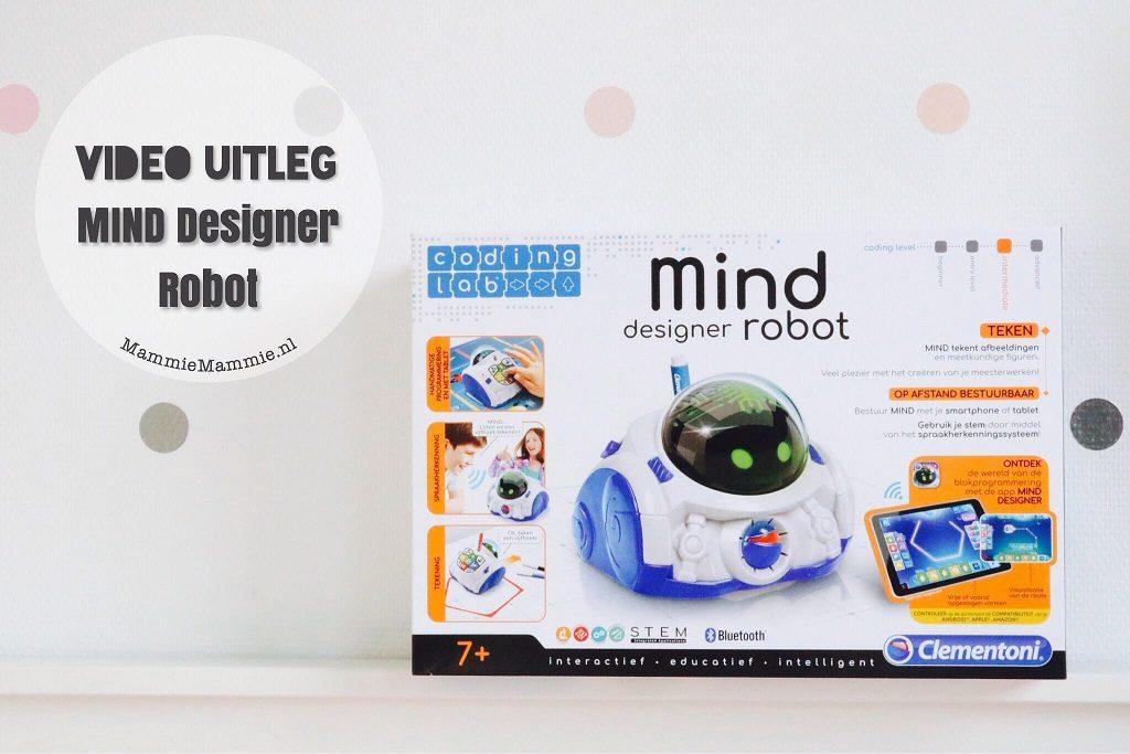 hoe werkt mind designer robot