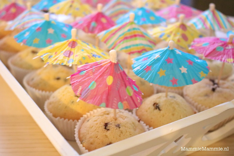 makkelijke cupcake traktatie
