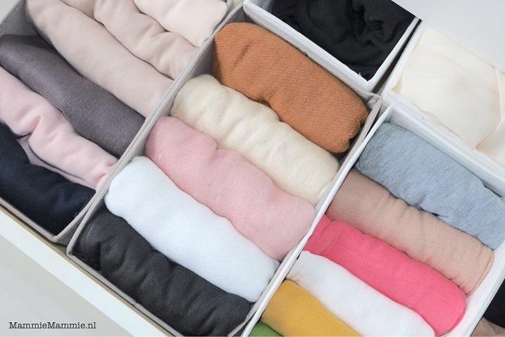 hoofddoeken opbergen