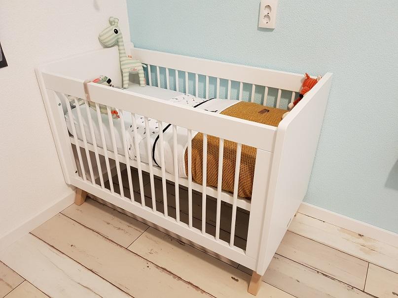 houten vloer babykamer