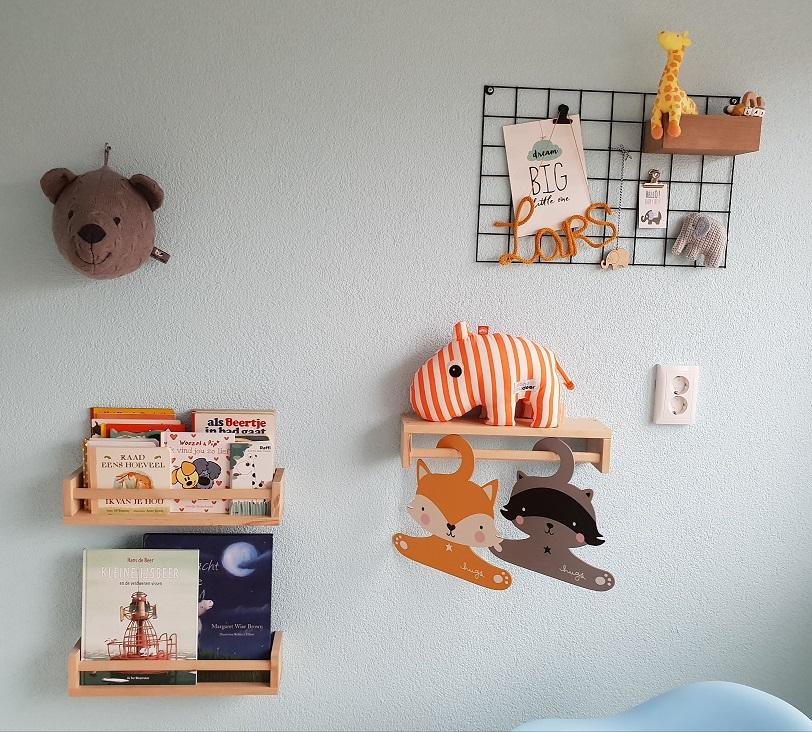 muur decoratie babykamer