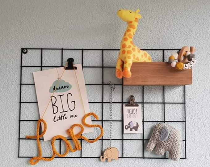 muurdecoratie babykamer jongen
