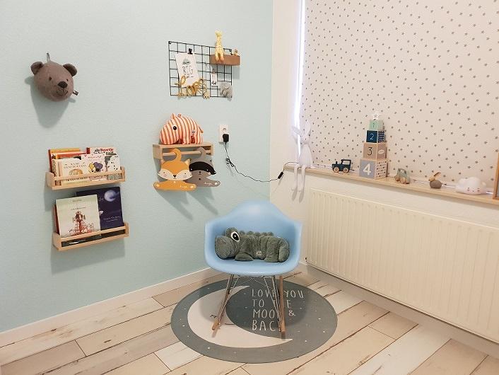 scandivanvische babykamer jongen