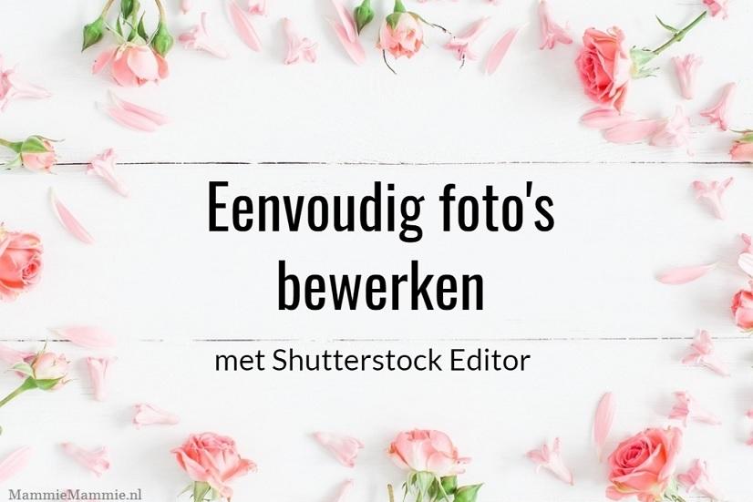 fotos bewerken shutterstock