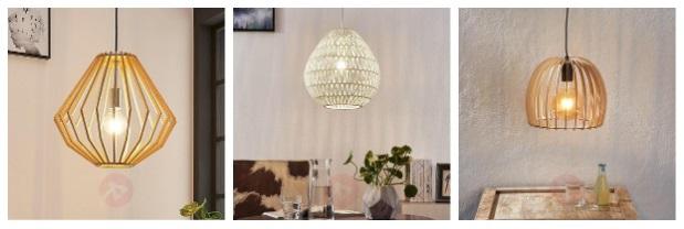 inspiratie houten hanglampen
