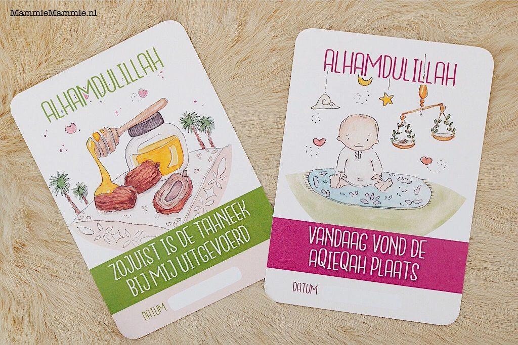 keena islamitische baby cards
