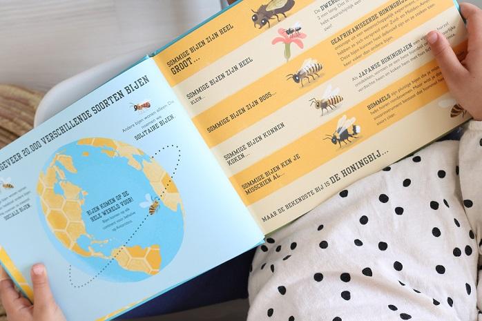 recensie kinderboek over bijen bijenboek