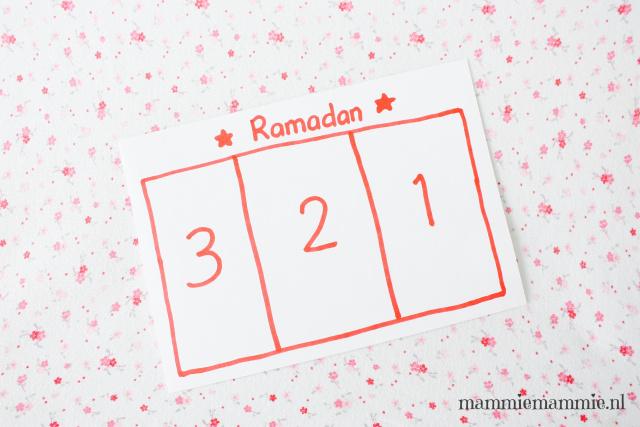 aftellen ramadan peuter
